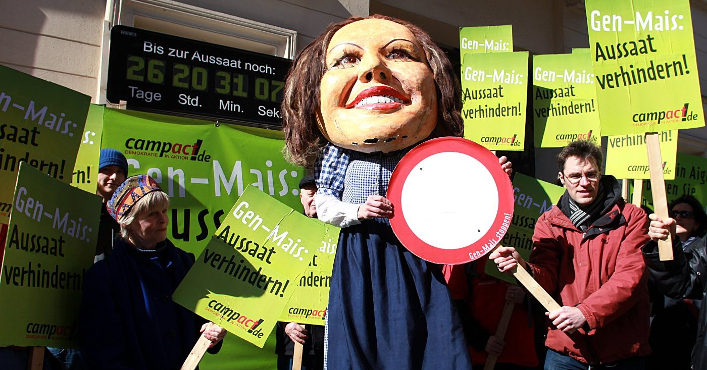 """Protest """"Genmais stoppen"""" in Berlin 2009 / Campact e.V. [CC BY-ND 2.0]"""