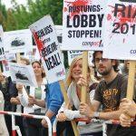 Protest gegen den Panzer-Deal