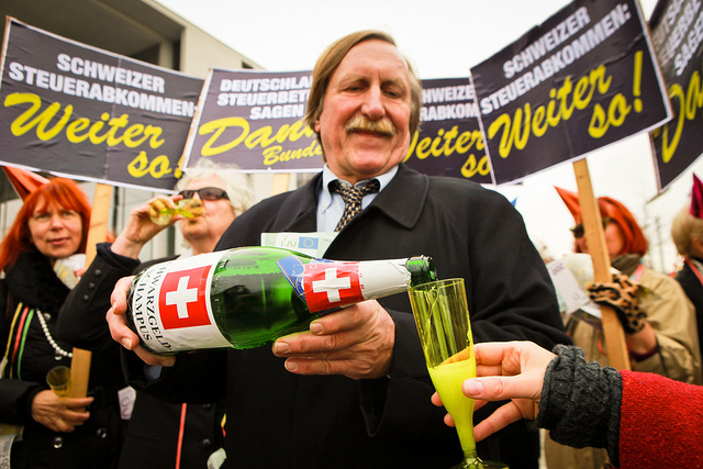 """""""Jubel-Demo"""" vor dem Bundestag"""