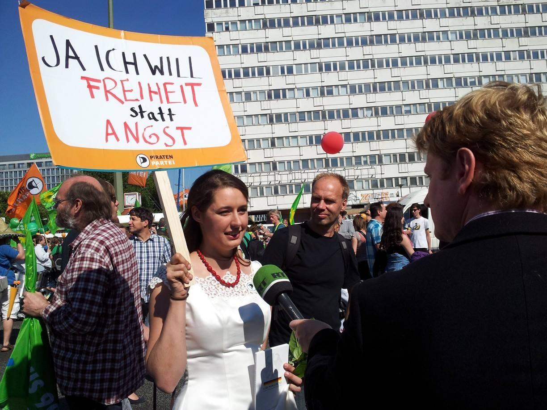 Katharina Nocum von den Piraten sagt JA