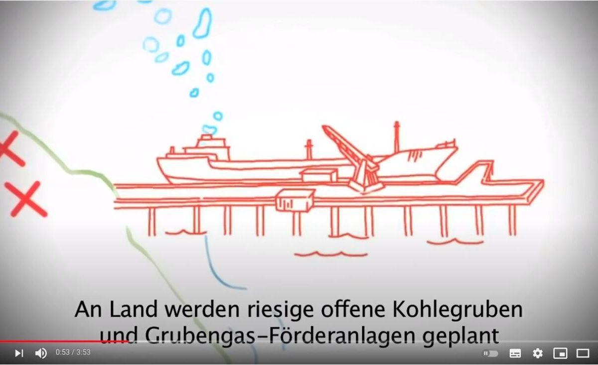 Screenshot YouTube: Kein Konto bei der Deutschen Bank!