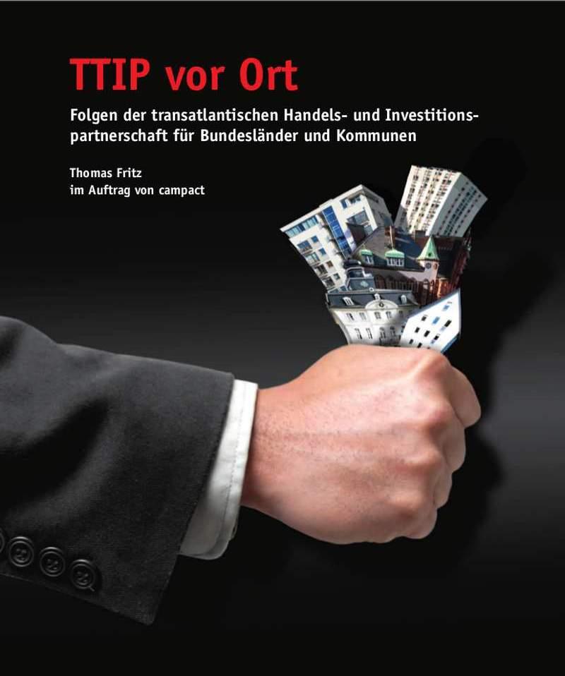 Coverbild der TTIP-Studie