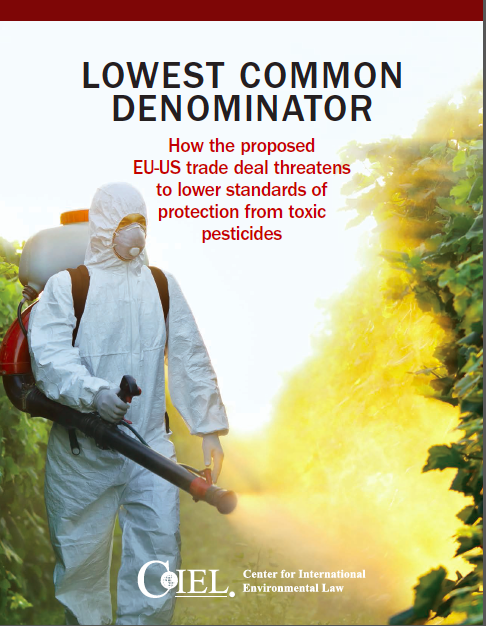 Titelbild der Studie zu TTIP