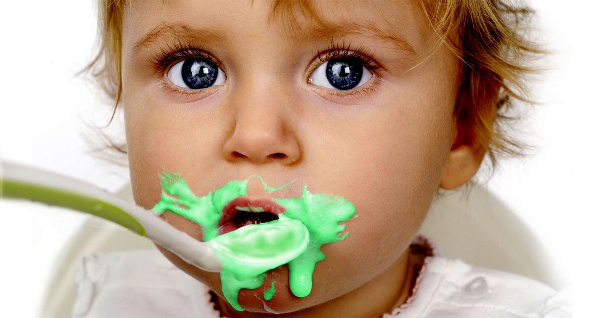 Babynahrung pestizid-belastet