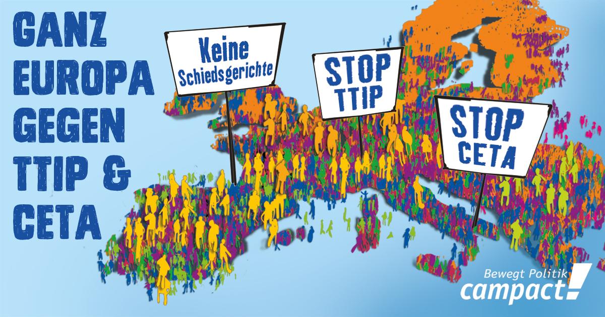 Ganz Europa gegen TTIP & Co