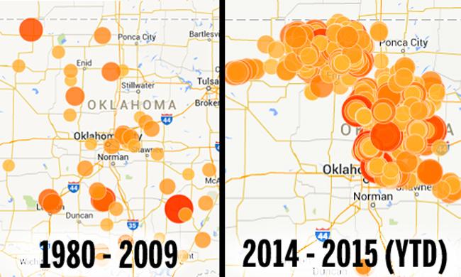 Erdbeben in Oklahoma (USA)
