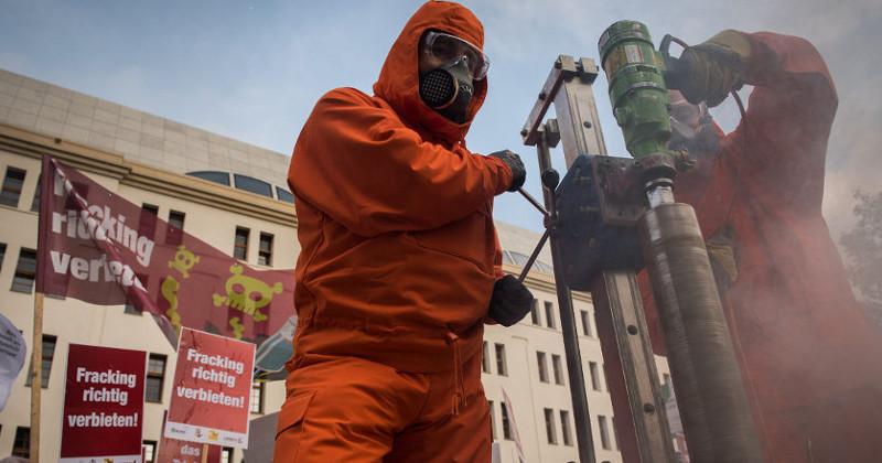 Fracking-Probebohrung