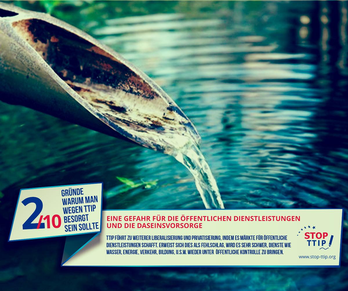 TTIP: Gefahr für Öffentliche Dienstleistungen und Daseinsvorsorge. Grafik: stop-ttip.org