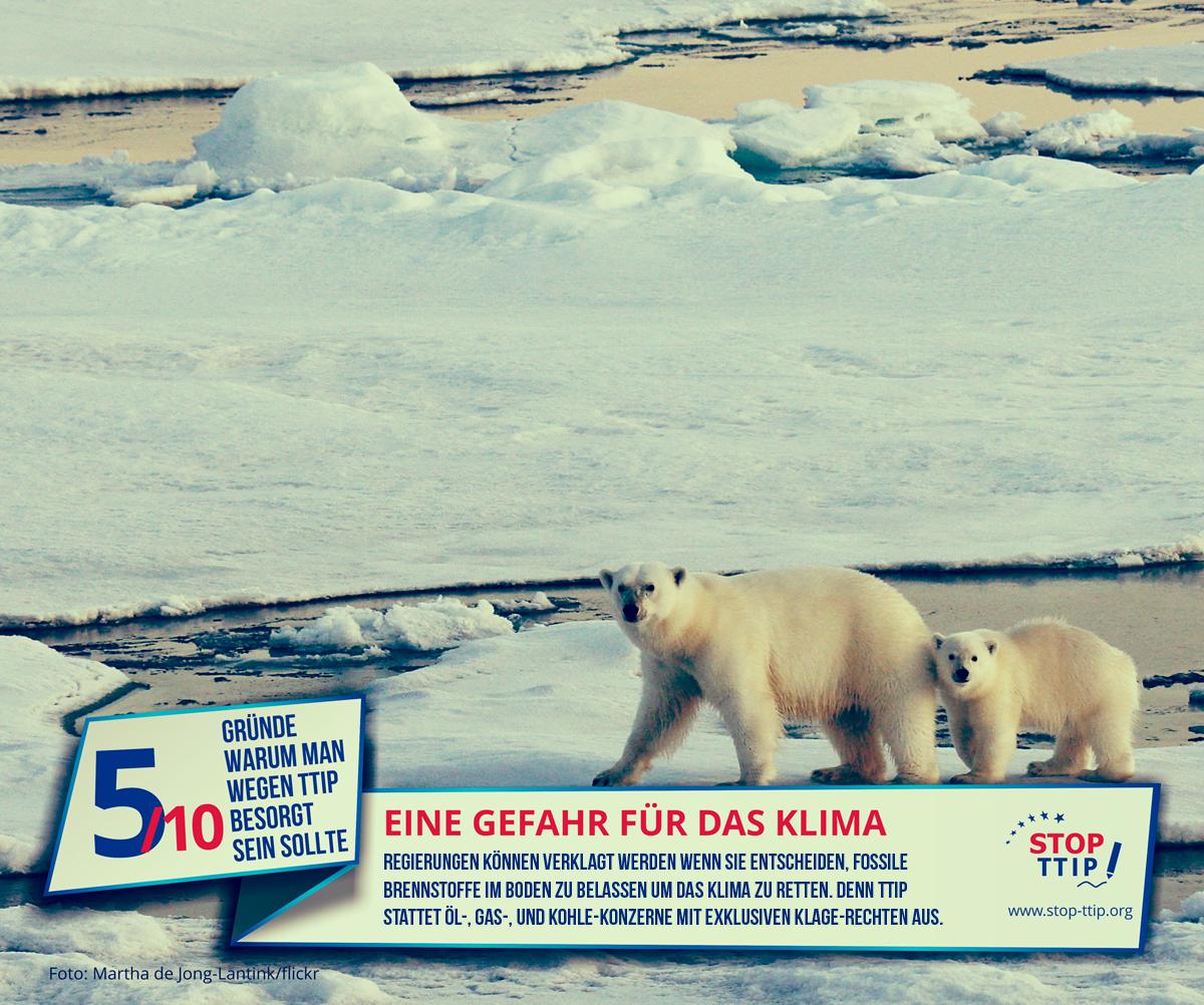 TTIP: Gefahr für das Klima Grafik: stop-ttip.org