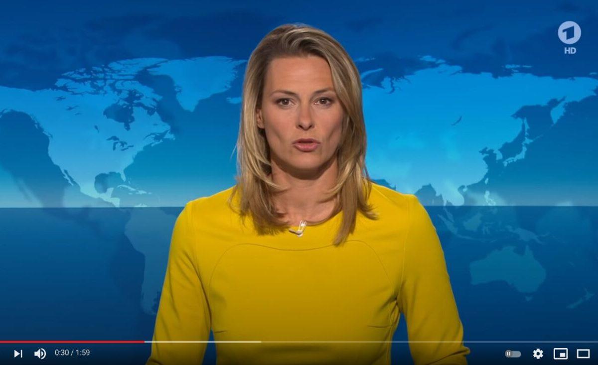 YouTube-Screenshot: Anja Reschke: Dagegen halten - Mund aufmachen!