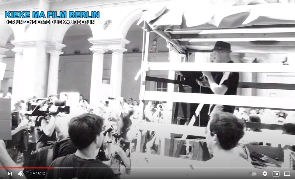 Kiek Ma Film: Demo für Pressefreiheit