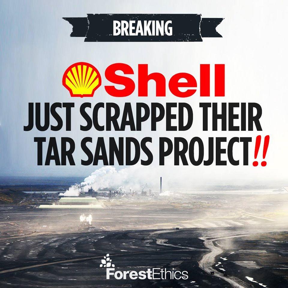 Shell stoppt Teersand-Projekt