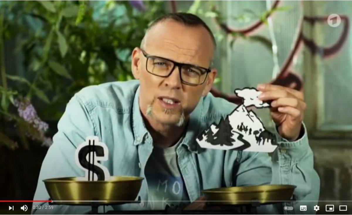 YouTube-Screenshot - Wissen vor acht: Natur Fracking