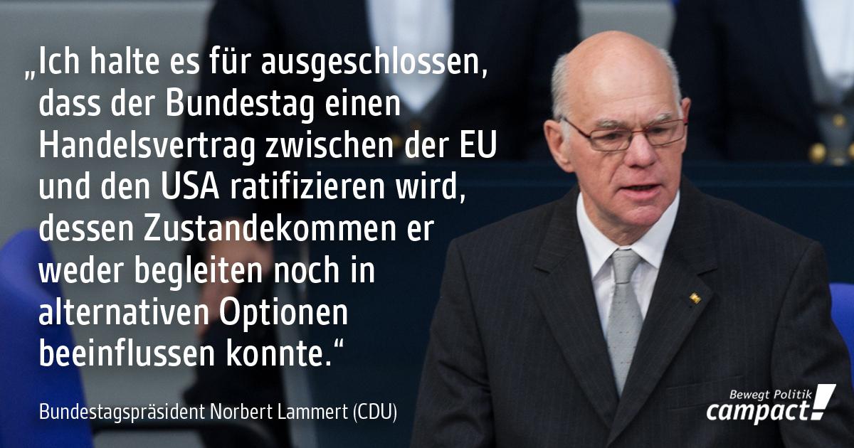Norbert Lammert zur Geheimhaltung bei TTIP. Grafik: Campact/Zitrusblau (CC BY-NC-ND 2.0)