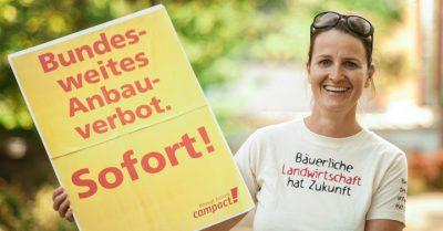 Gentechnik-Verbot - bundesweit. Foto: Jakob Huber/Campact