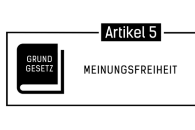 Grundgesetz: Artikel 5, Meinungsfreiheit