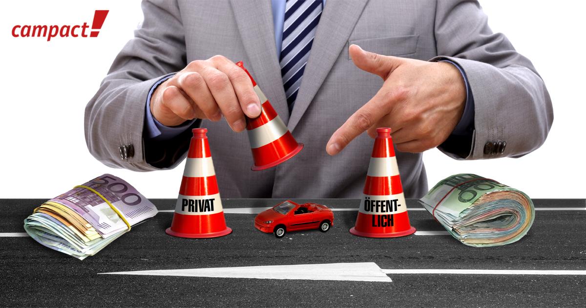 Autobahngesellschaft. Das große Hütchenspiel