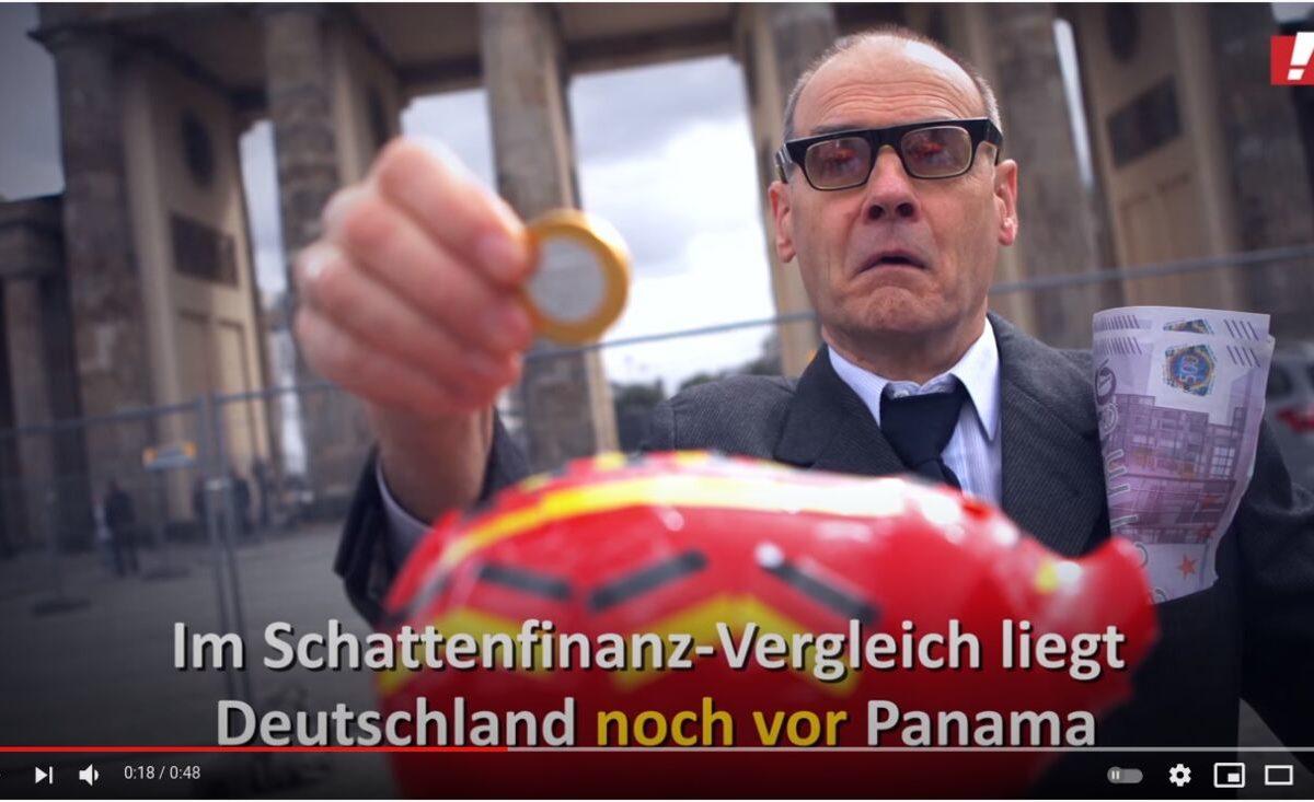 YouTube-Screenshot - Deutschland schlimmer als Panama: Geldwäsche beenden!