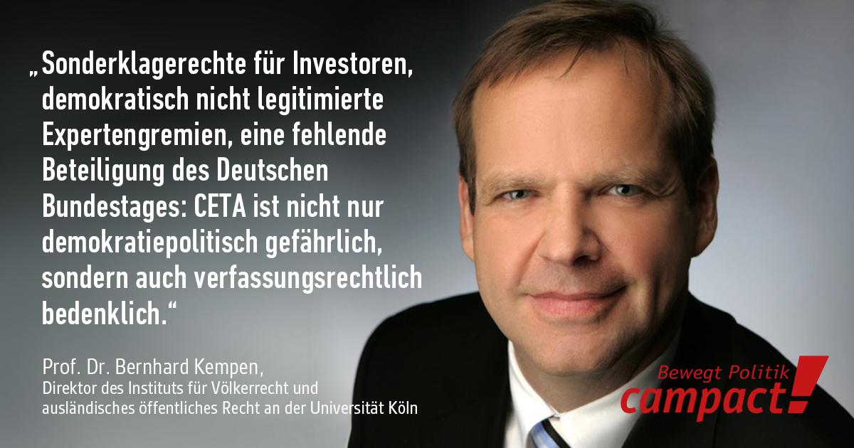 Prof. Kempen, Universität Köln