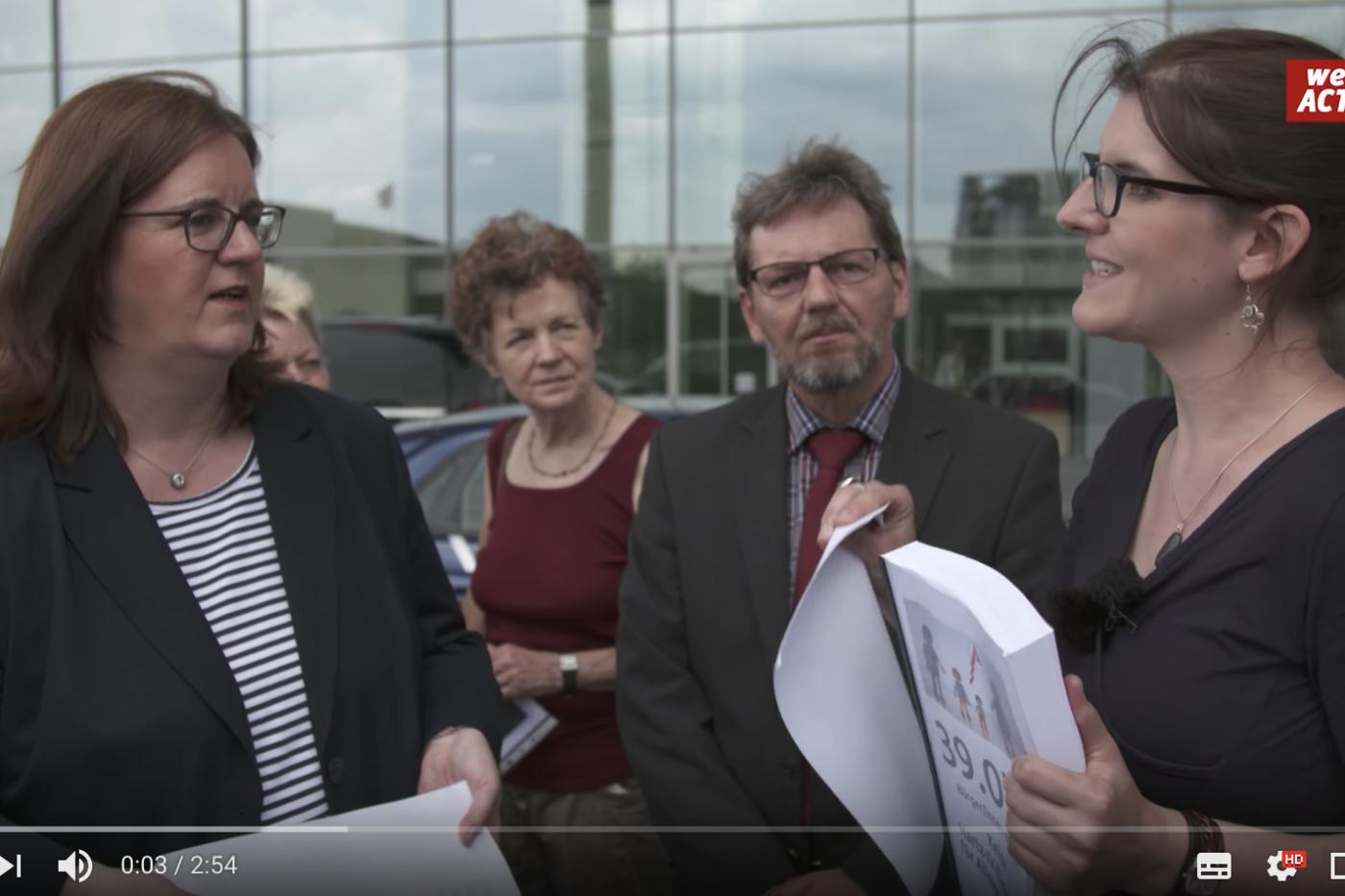 WeAct: Wie Du mit der Petitionsplattform von Campact Politik bewegen kannst
