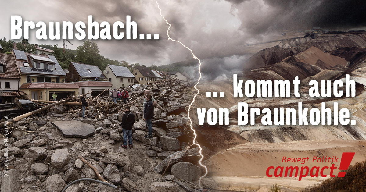 Braunsbach und Braunkohle