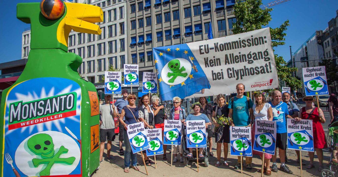 EU-Kommission: Kein Alleingang für Glyphosat