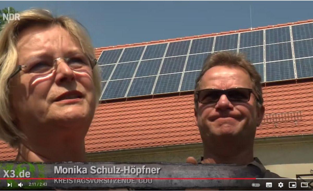 YouTube-Screenshot - Extra 3: Irrsinn! Illegale Solaranlage im Braunkohlegebiet
