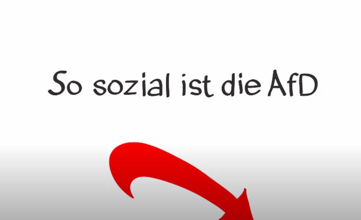 Videovorschau: So sozial ist die AfD.
