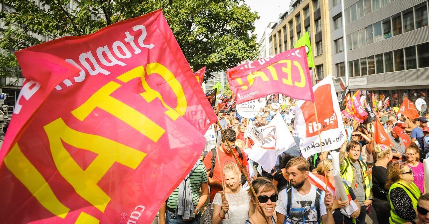 TTIP Demo in Stuttgart