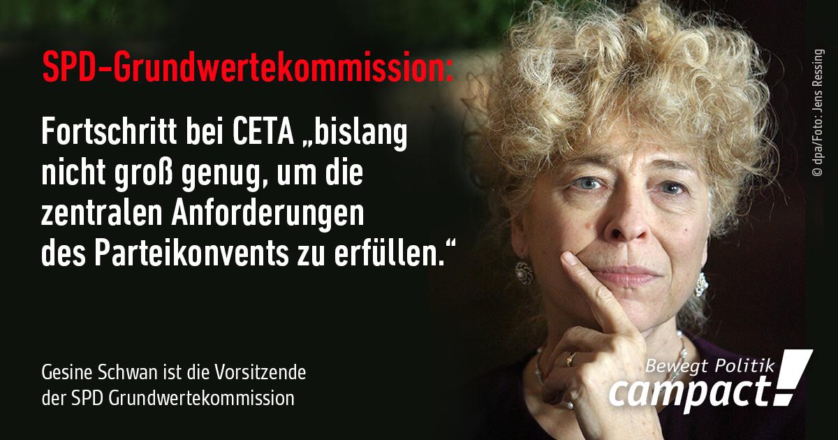 SPD Grundwertekommission zu CETA