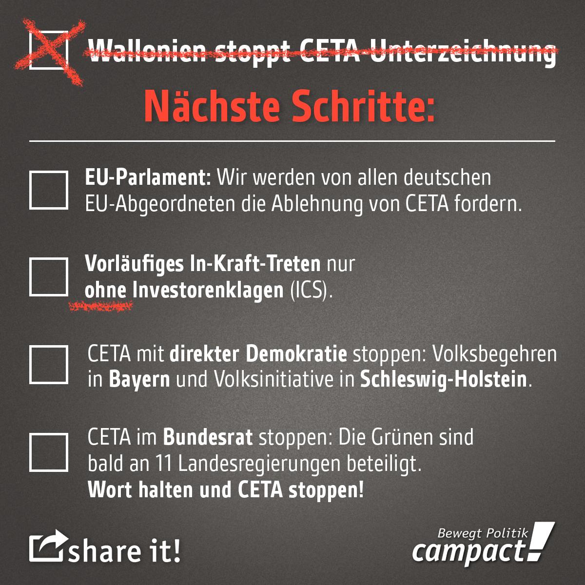 So geht es mit CETA weiter. Grafik: Zitrusblau/campact (CC)