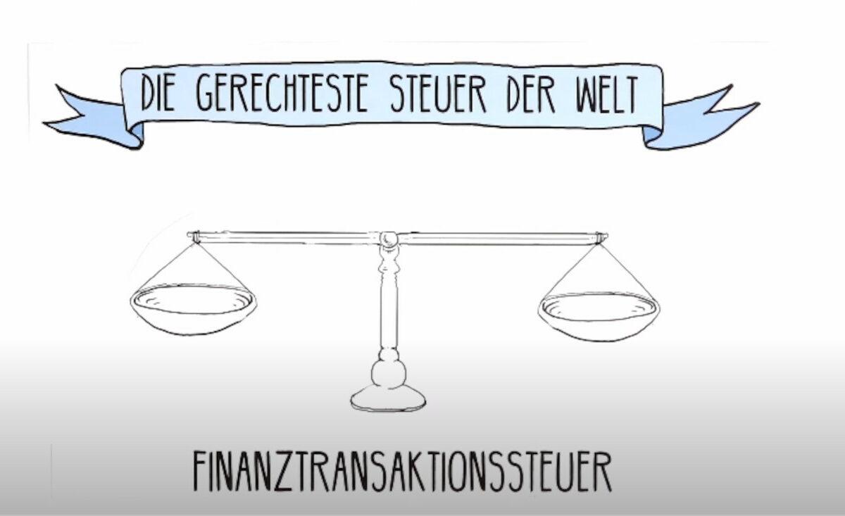 Videovorschau: Die gerechteste Steuer der Welt - Transaktionssteuer.