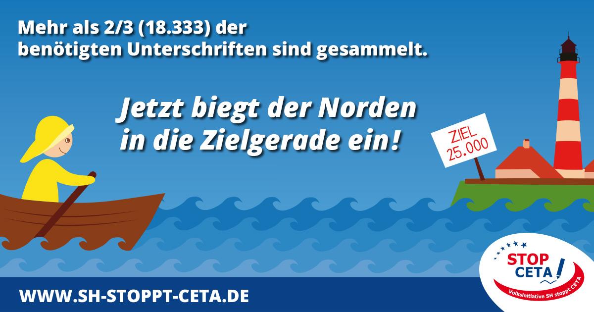 Mit einer Volksinitiative in Schleswig-Holstein CETA kippen. Grafik: Nele Goetz