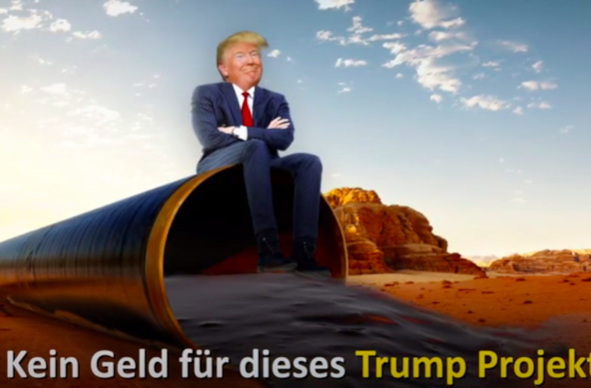 Videovorschau: Kein Geld für Trumps Pipeline.