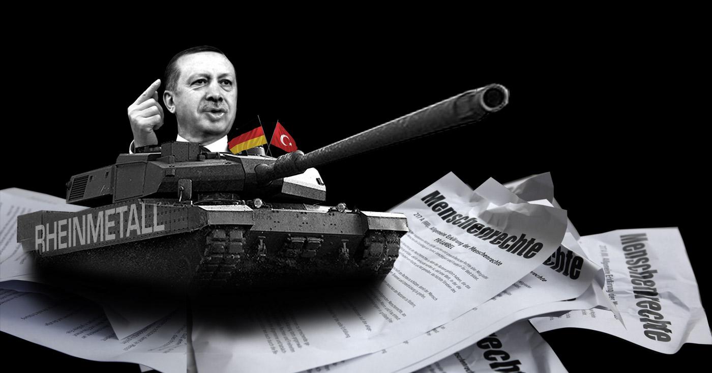 Keine Panzer für Erdogan! Rheinmetall will Panzerfabrik in der Türkei bauen