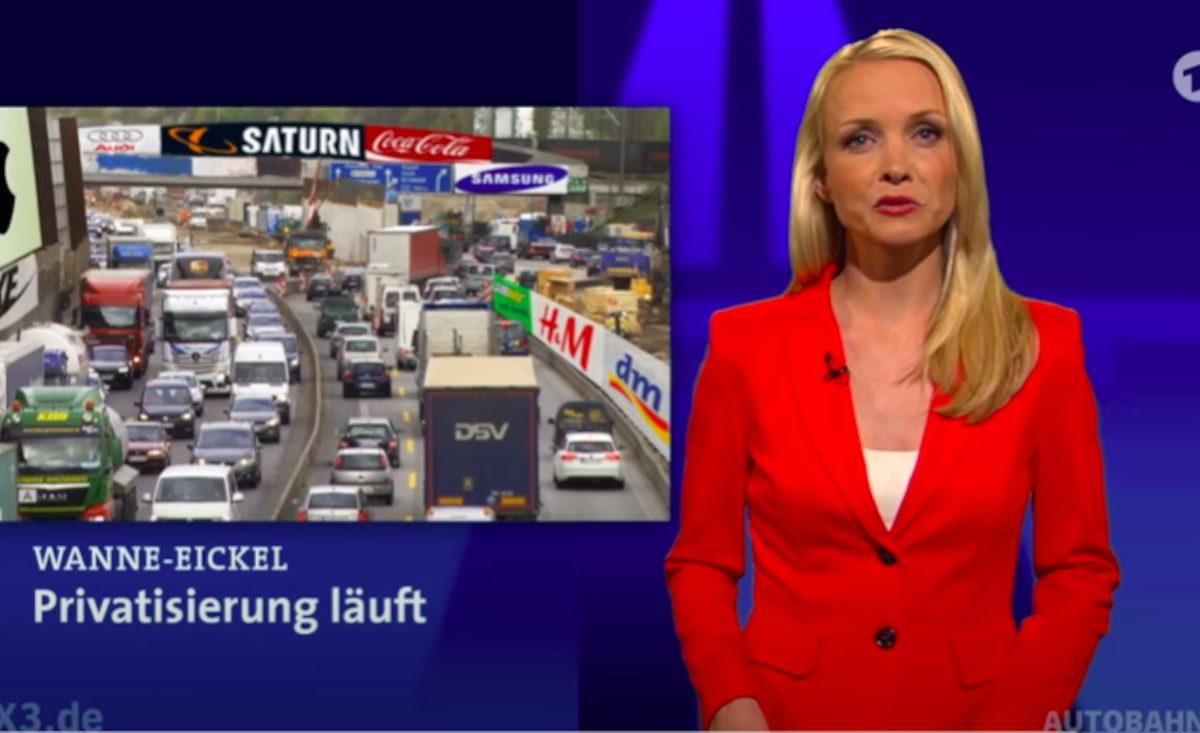 Videovorschau: Privatisierung der Autobahnen.