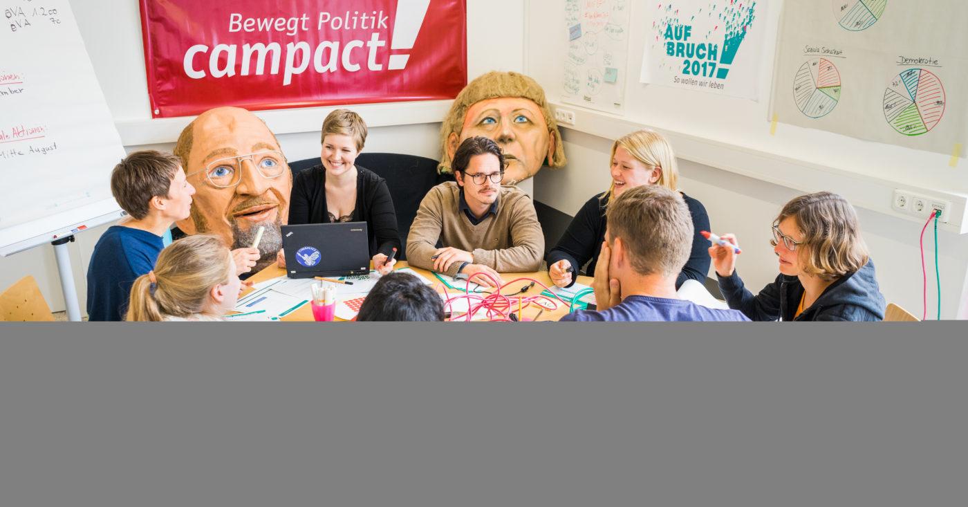 11.000 Vorschläge hat das Campact-Team in 60 Forderungen zusammengefasst – über die dann 75.000 Menschen abgestimmt haben. Foto: Lukas Klose/Campact