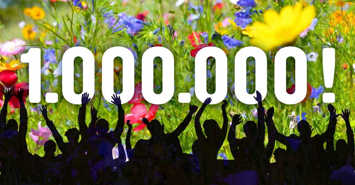 Jubelgrafik: 1 Million Menschen fordern Glyphosat-Verbot