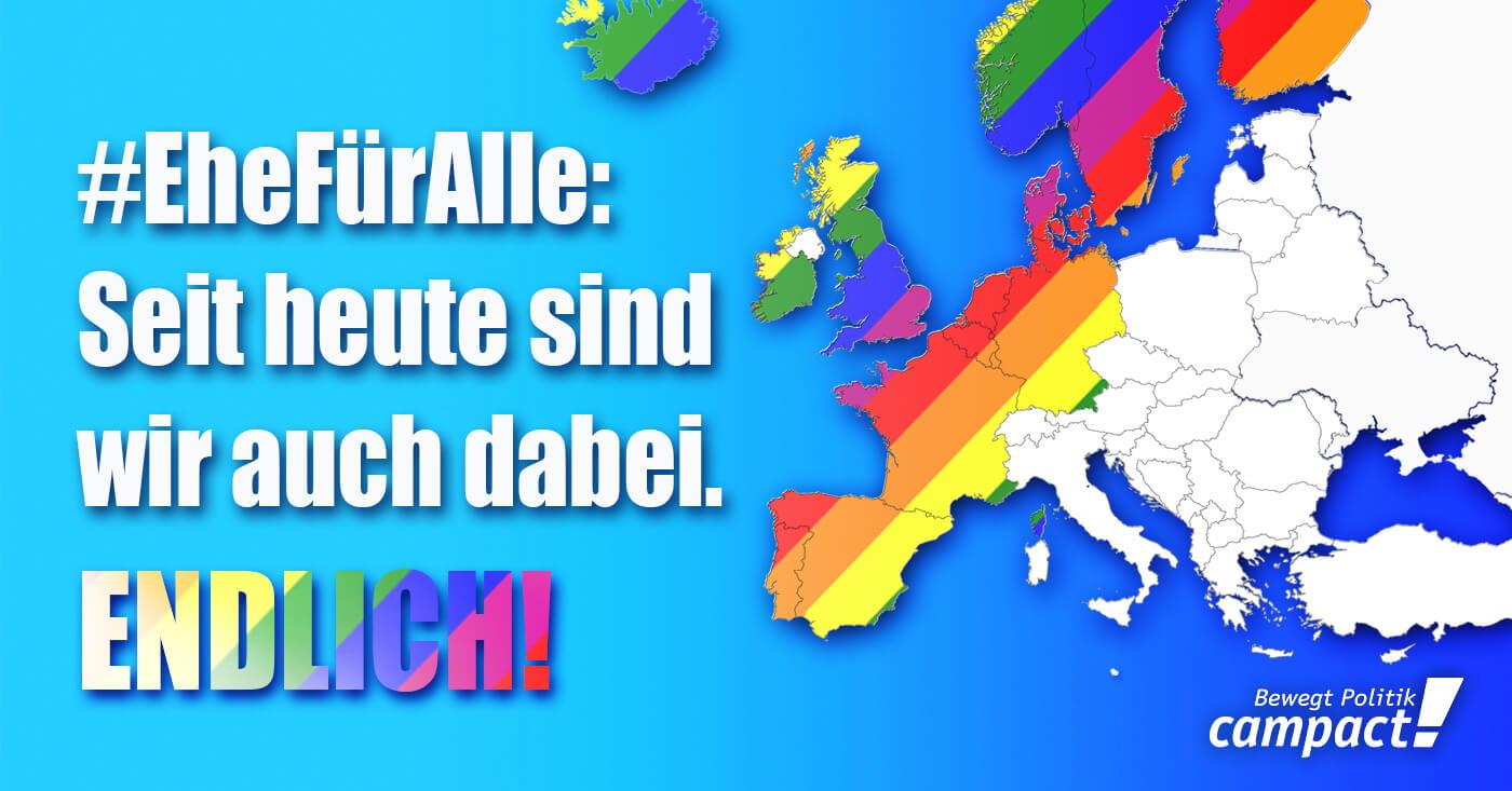 Ehe für alle - endlich auch in Deutschland