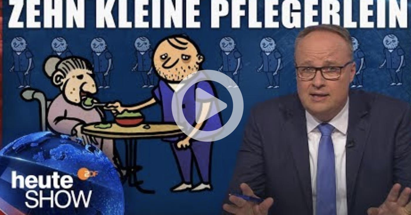 Oliver Welke zur Pflegesituation in Deutschland