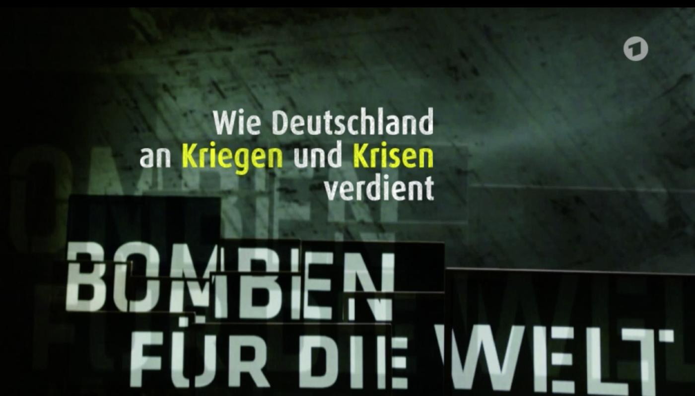 Bomben für die Welt - Wie Deutsche an Kriegen und Krisen verdienen / Neue Doku 2018