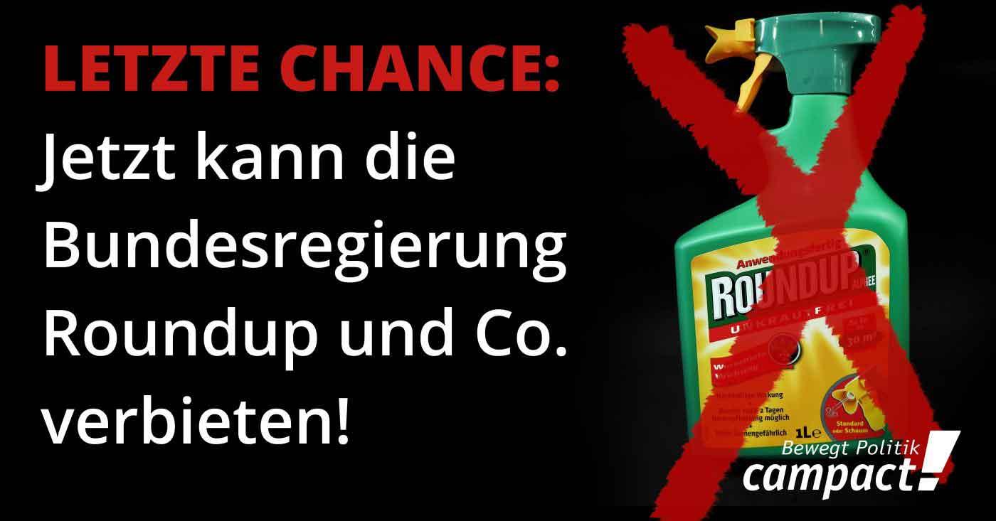 Das Unkrautvernichtungsmittel Roundup vom Chemiekonzern Monsanto mit dem Wirkstoff Glyphosat aufgenommen am 27.10.2017 in Berlin