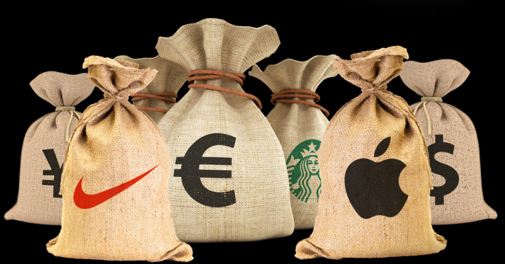 Apple, Amazon und Co.: Auch Konzerne müssen steuern zahlen. Jetzt Campact-Appell unterzeichnen / Campact e.V. [CC BY-ND 2.0]
