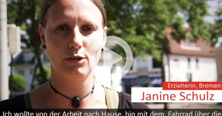 Janine Schulzes startet auf WeAct eine Petition