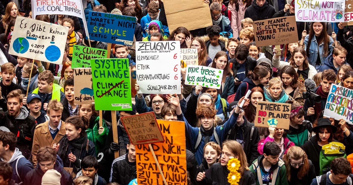Fridays for Future: Schulstreik für das Klima