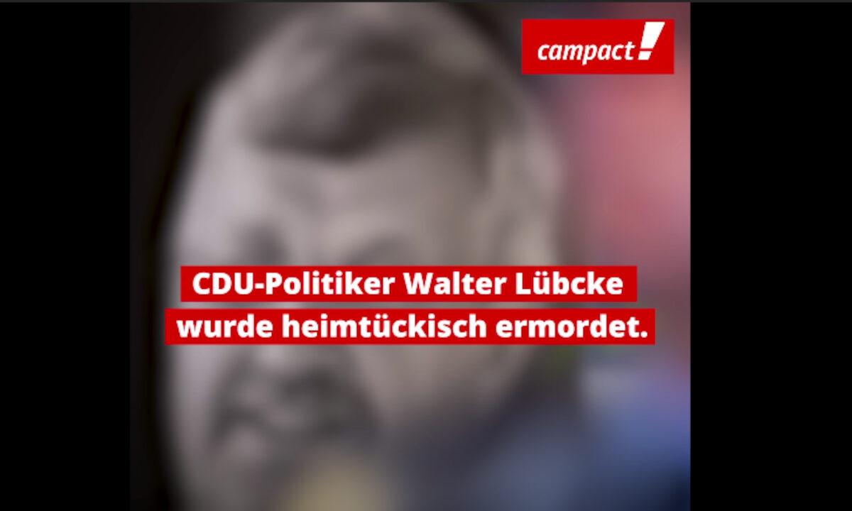 Vorschau Youtube-Video: CDU-Politiker Walter Lübcke wurde heimtückisch ermordet.