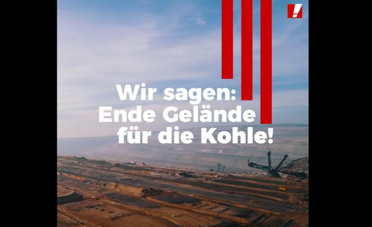 Screenshot YouTube Campact e.V.: Vorschau Video: Wir sagen Ende Gelände für die Kohle!