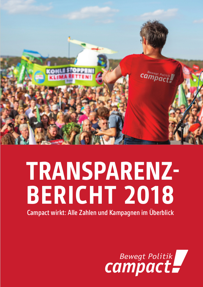 Transparenzbericht 2018: Alle Zahlen und Kampagnen im Überblick