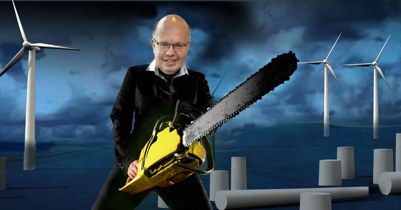 Altmaier gibt der Windkraft den Todesstoß, Campact startet einen Appell