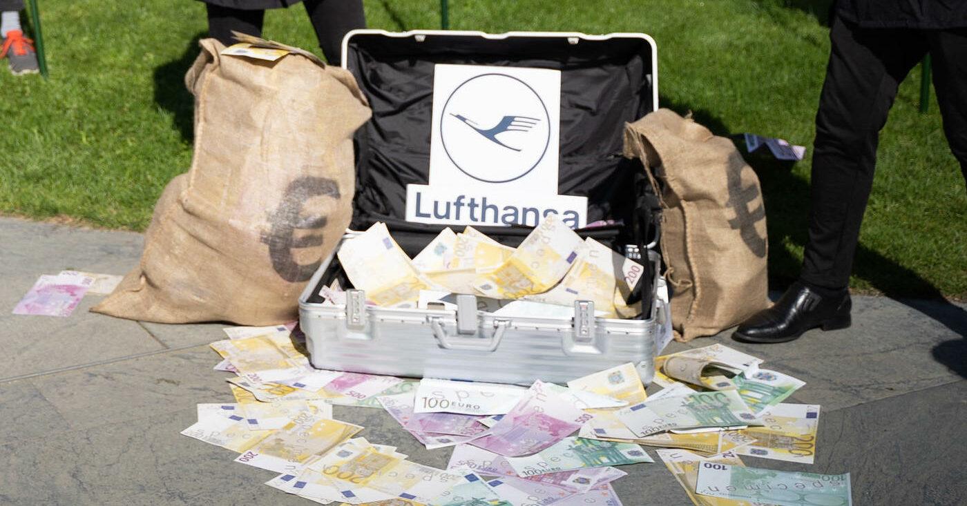 Milliarden für die Lufthansa ohne Klimaschutz und Steuerfairness